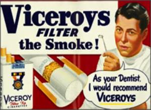 Figure 5. Viceroys advertisement